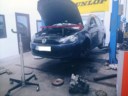 kit abmreiaj + volanta vw golf 6