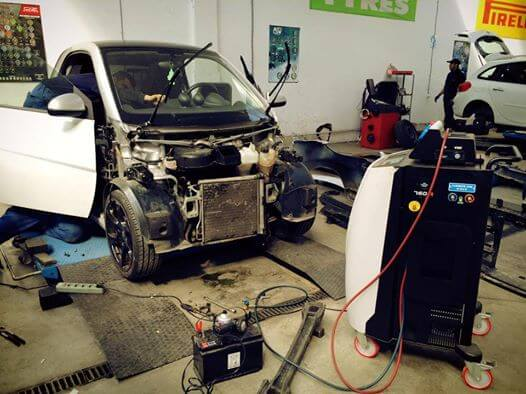 freon smart fortwo 451